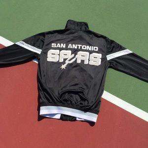 9ed1c65ef STARTER San Antonio Spurs Track Jacket